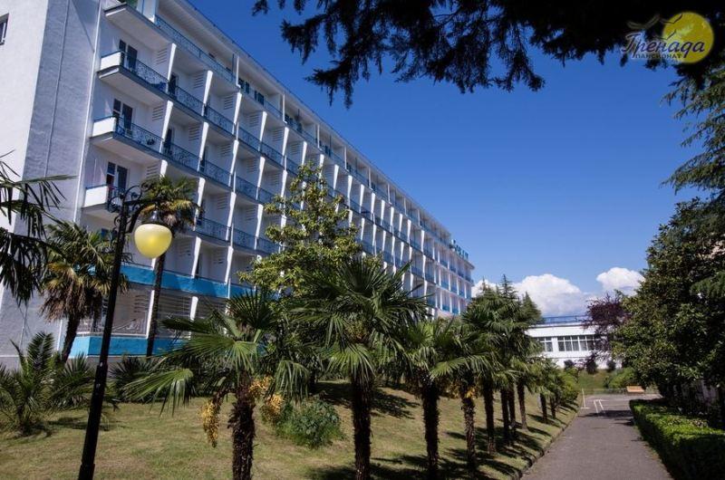 Санаторий АКТЕР Сочи Хоста цены на 2017 год