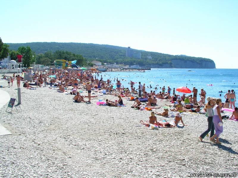 Дивноморск пляжи, фото и описание пляжей